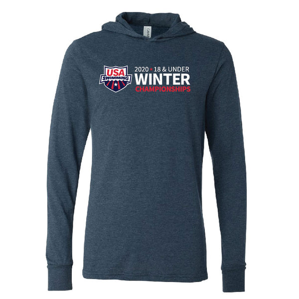 USAS 18&Under Winter Championships Hooded Long Sleeve