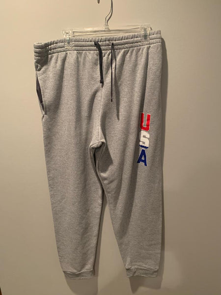 Red SQ Pajama Bottoms Size: S