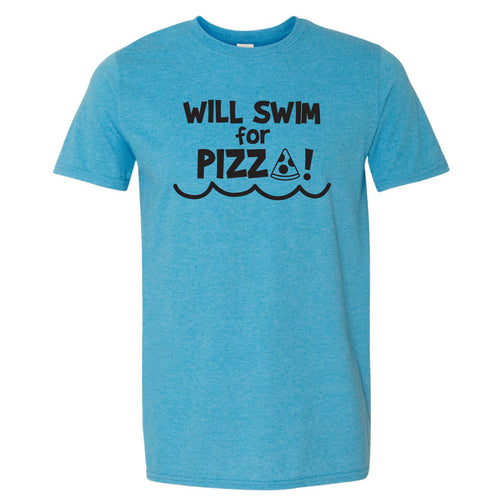 Will Swim For Pizza T-Shirt