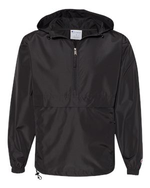 Solid Windbreaker 1/4 Zip