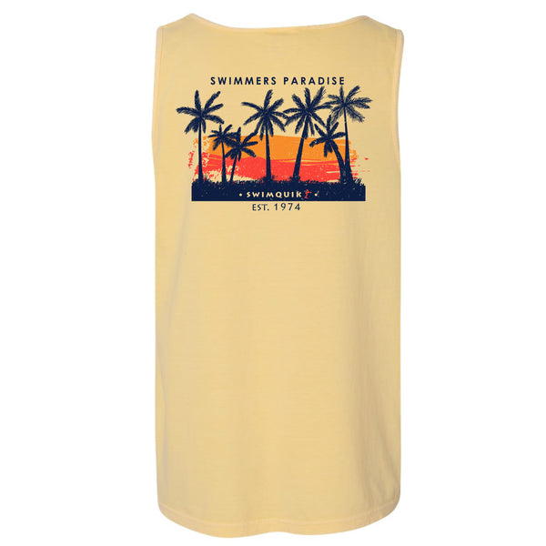 Swimmer's Paradise Comfort Colors Tank Top
