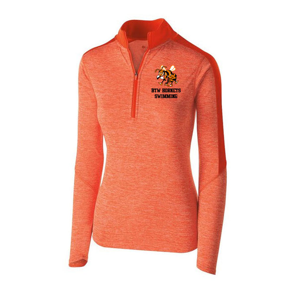 BTW HS Swimming Ladies 1/4 Zip