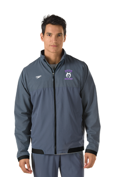 Tech Warm Up Jacket With Team Logo