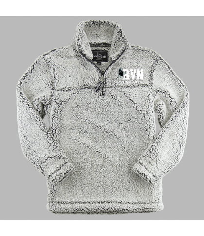 Blue Valley North Quarter Zip Sherpa Pullover