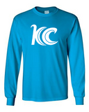 Blue Wave Swim Team Long Sleeve T-Shirt