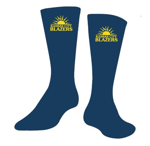 KC Blazers Custom Socks