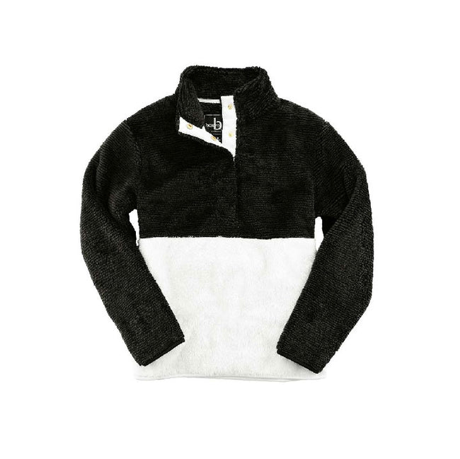 Fuzzy Fleece Pullover - Customizable
