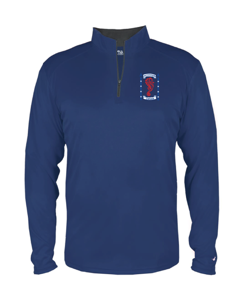 Ft. Leavenworth Youth 1/4 Zip Pull-Over