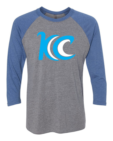 Blue Wave Baseball Shirt