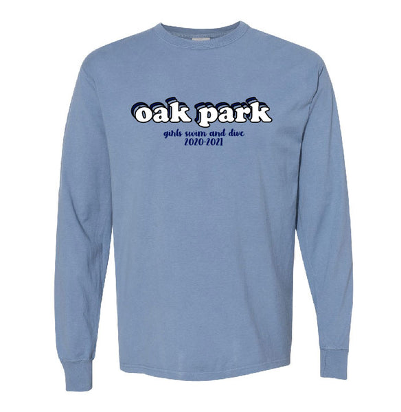 Oak Park Swim & Dive Long Sleeve