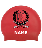 Indian Hills Personalized Swim Cap Set of 2