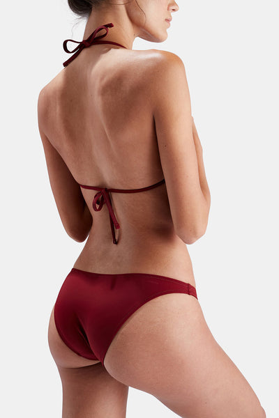 Rust| Solid & Striped The Wendy Bottom