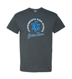 Leavenworth High School Heavy Cotton T-Shirt