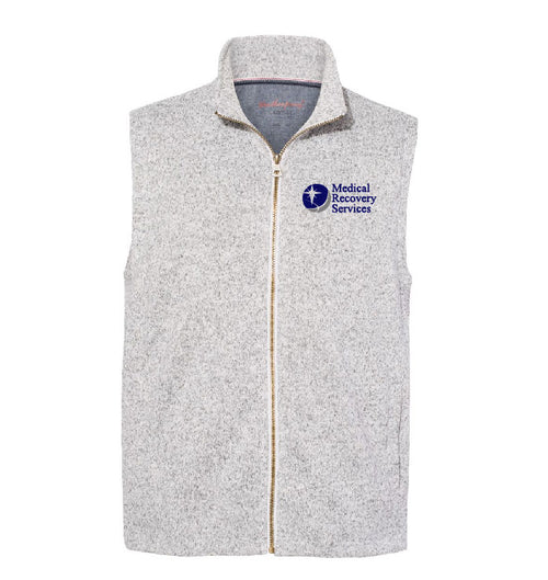 Medical Recovery Services Sweater Fleece Vest