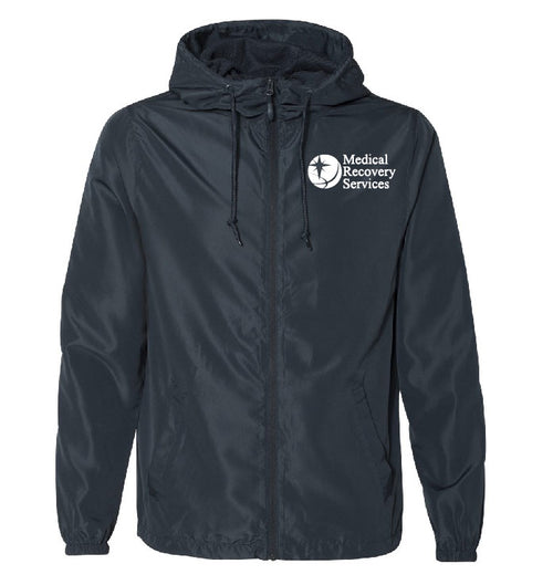 Medical Recovery Services Windbreaker Full Zip