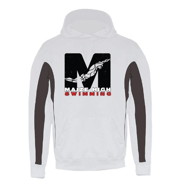 Maize Color Block Performance Hoodie