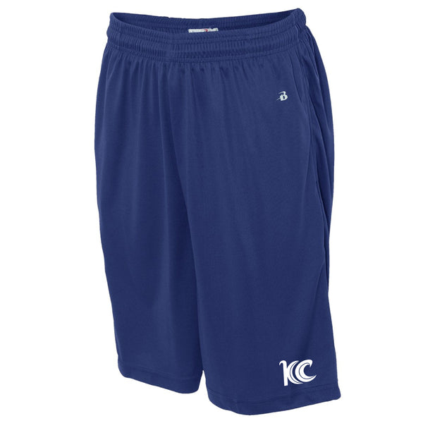 Blue Wave Swim Team B-Core Pocketed Shorts