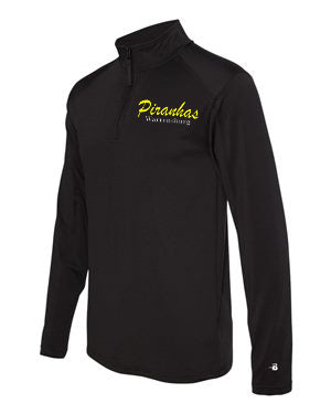 Piranhas Men's 1/4 Zip Lightweight Pullover