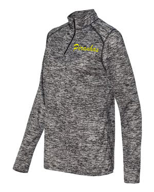 Piranhas Women's Blend 1/4 Zip Pullover