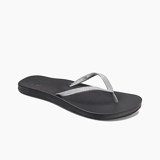 Silver| Reef Cushion Bounce Stargazer Sandals