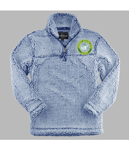 Shawnee Mission South Quarter Zip Sherpa Pullover