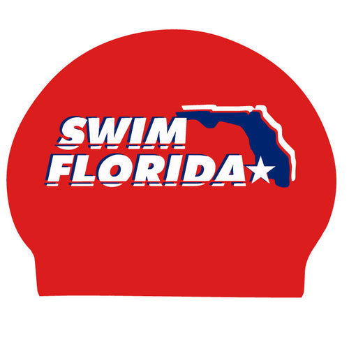 Swim Florida Cap Sticker