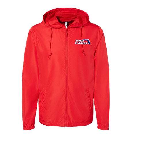 Swim Florida Hooded Windbreaker Full Zip