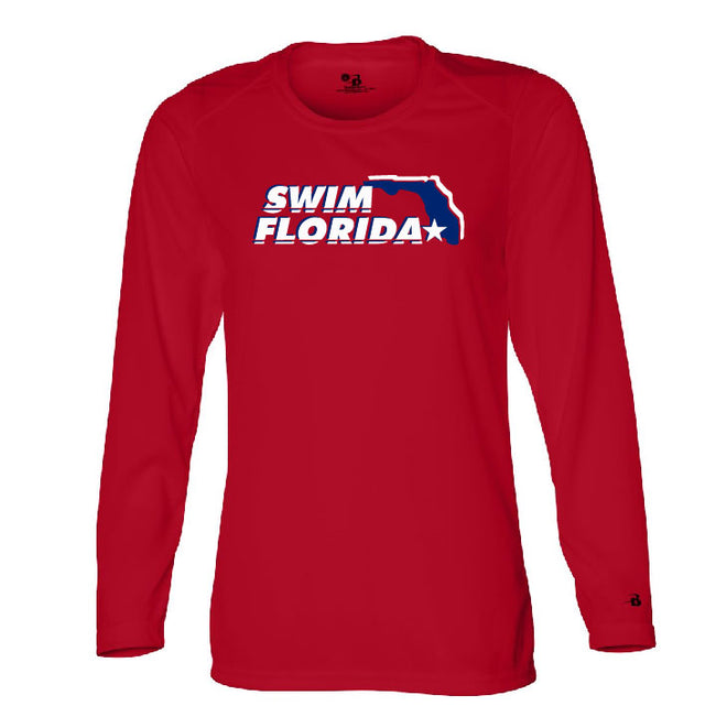Swim Florida Ladies Performance Long Sleeve