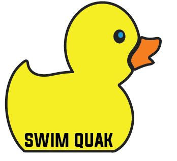 Swim Quak Sticker