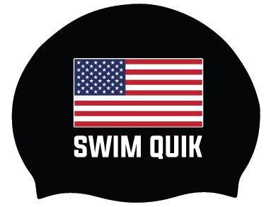 Swim Quik USA Cap Sticker