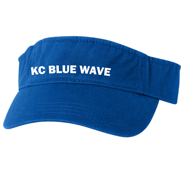 Blue Wave Swim Team Visor