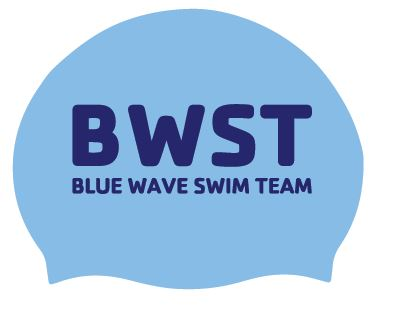 Blue Wave Cap Sticker