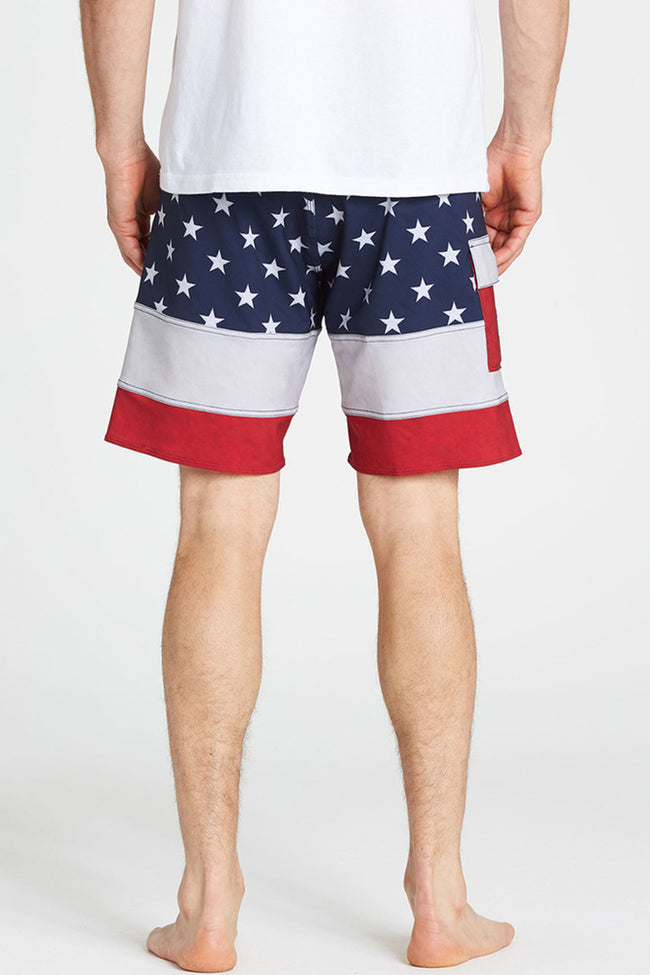 Stars And Stripes| Billabong Pump X Board Shorts