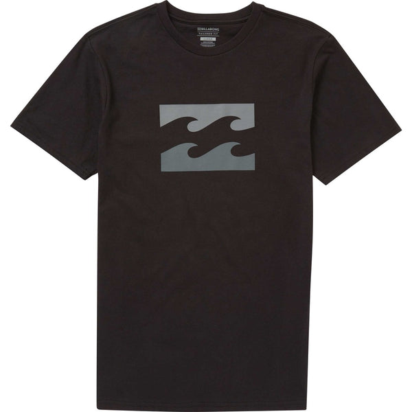 Black| Billabong Men's Wave Tee