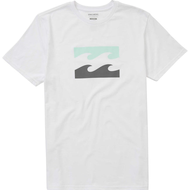 White| Billabong Men's Wave Tee