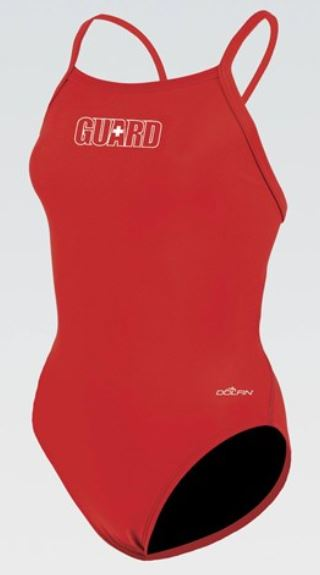 Womens Guard V-2 Back One Piece