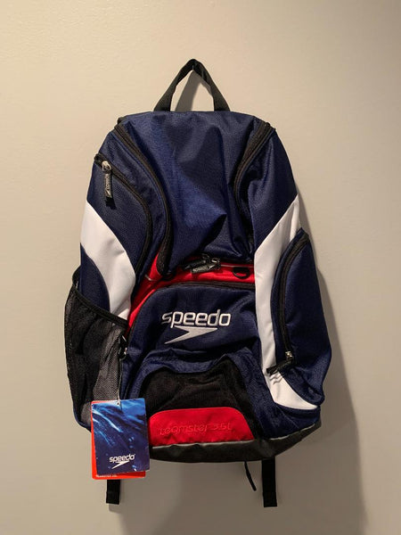 Red White and Blue Speedo Backpack