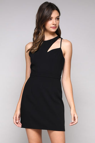 Cutout Bodycon Dress- 2 Colors