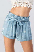 Stars Belted Shorts