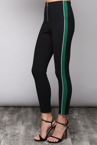 Side Stripe Pants- Red or Green