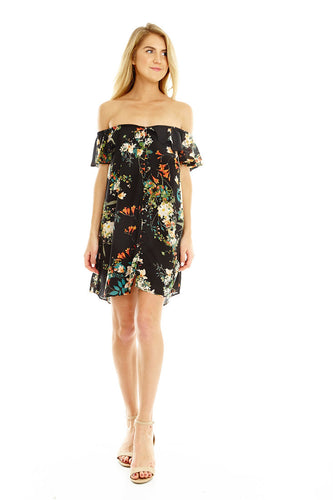 Night Out Floral Dress