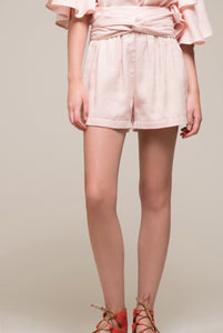 Clinched Waist Shorts