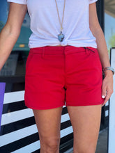 Camille Shorts- Navy, Red, or Grey