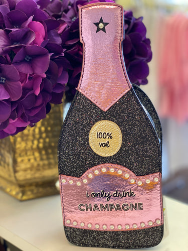 Champagne Bottle Clutch