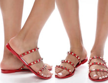 3 Strap Jelly Sandals - 3 Colors Choices