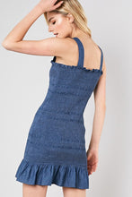 Denim Smocked Dress