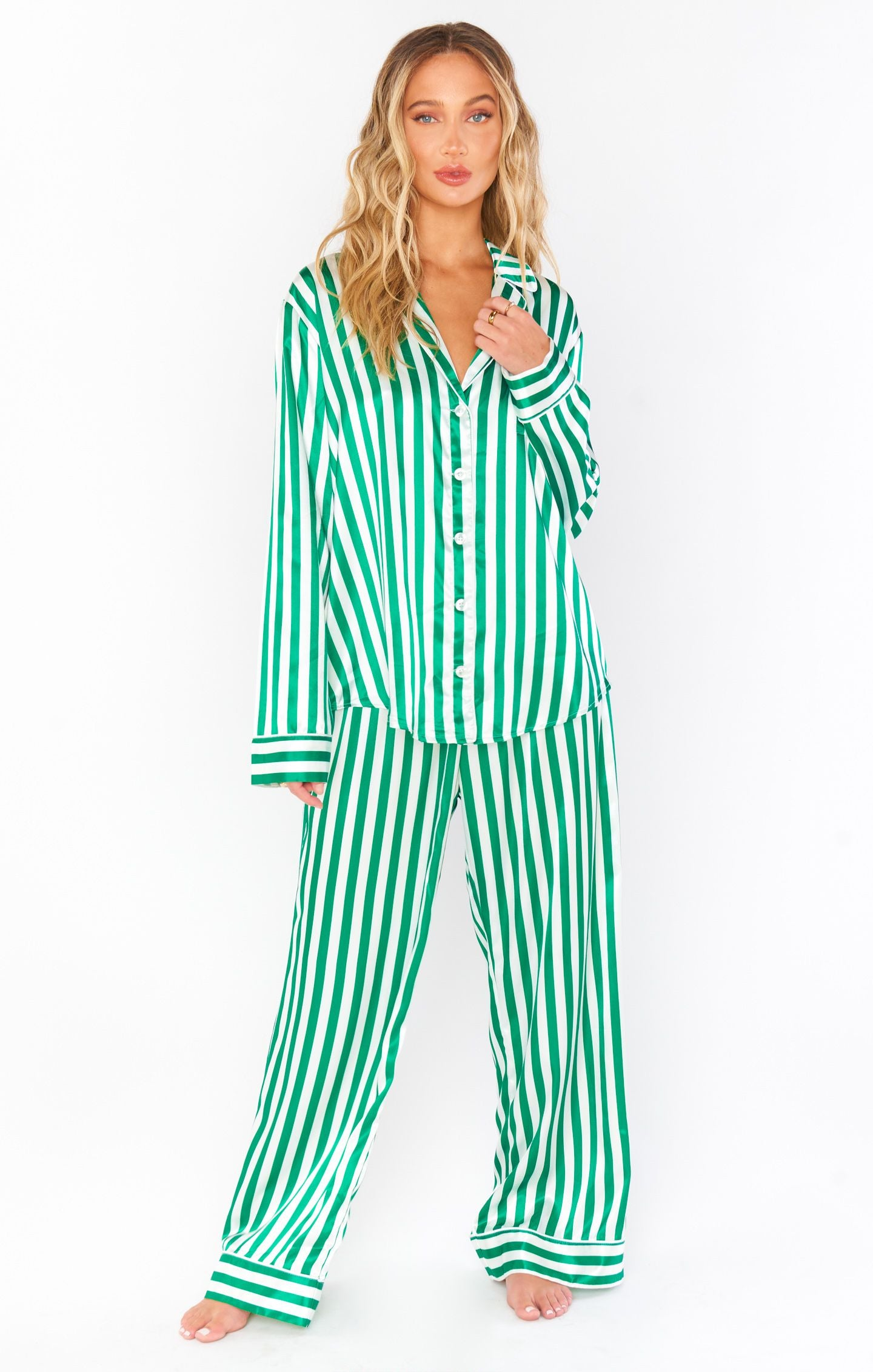 Sayer PJ Set- Red or Green