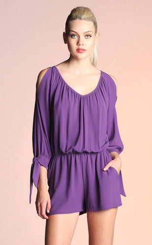 Purple Pride Romper