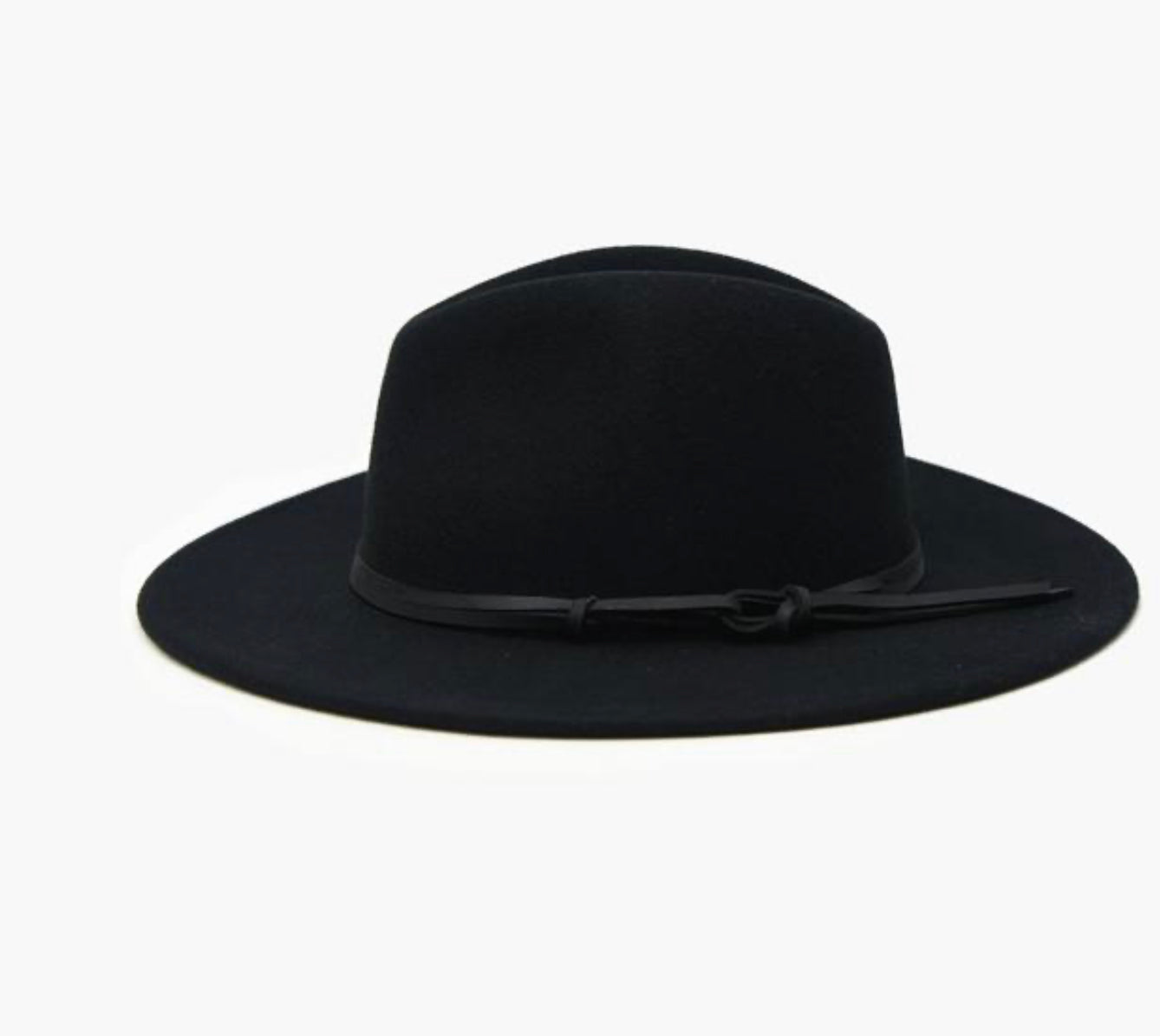The Billie Hat in Black