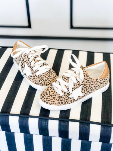 Star Sneakers Animal Spots